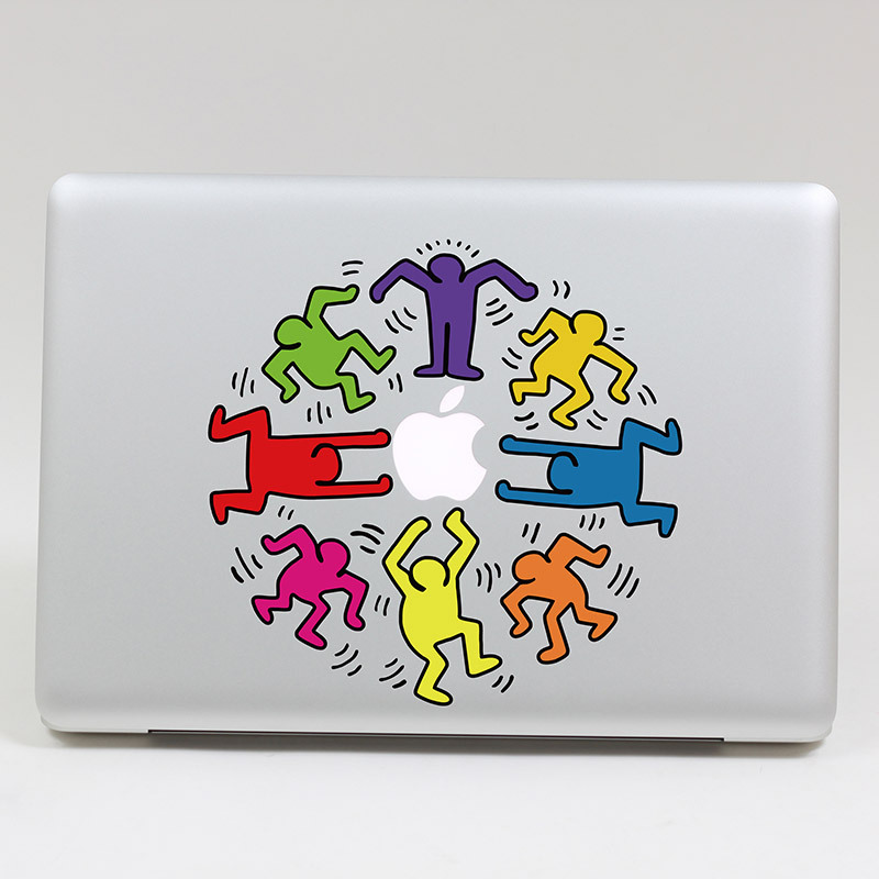 Free shipping Removable cute colorful gorgeousness waterproof and dustproof  keyboard stickers for computer mackbook air