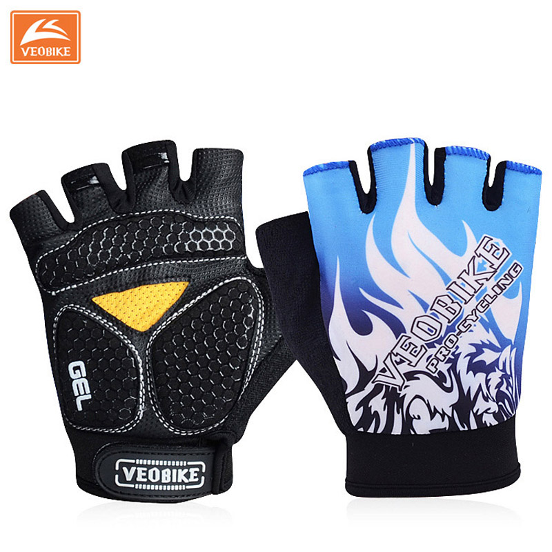 VEOBIKE Brand 2017 Pro GEL Pad Cycling Ciclismo Gloves/Mans Bike Sports Gloves/Breathable Racing MTB Bicycle Cycle Gloves