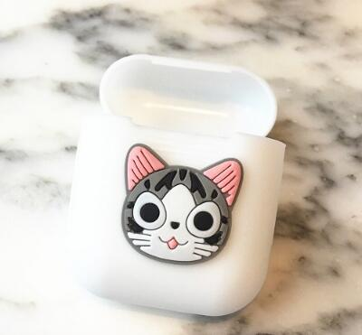 Cute Cartoon Soft Silicone AirPod Case Cover 5