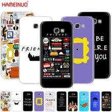 HAMEINUO с героями телесериала «Друзья» серии входной двери у Моники из сотового телефона чехол для Samsung Galaxy A3 A310 A5 A510 A7 A8 A9