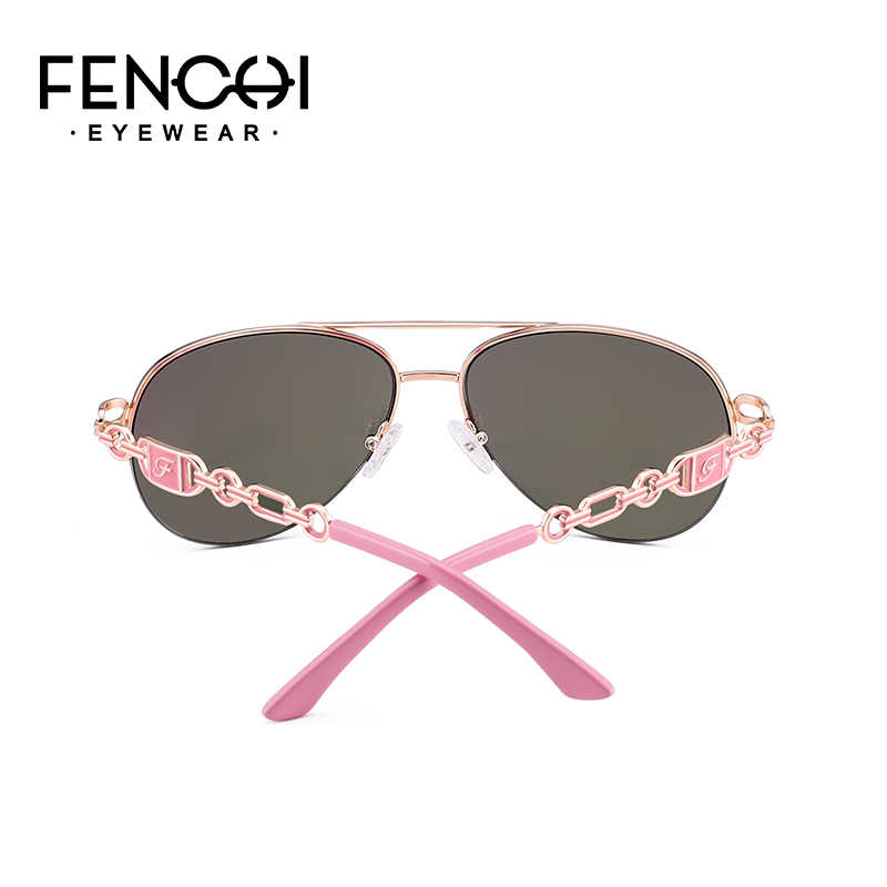 4dfda113508 ... FENCHI Sunglasses Women Driving Pilot Classic Vintage Sunglasses High  Quality Metal Brand Designer Glasses UV400 Fashion