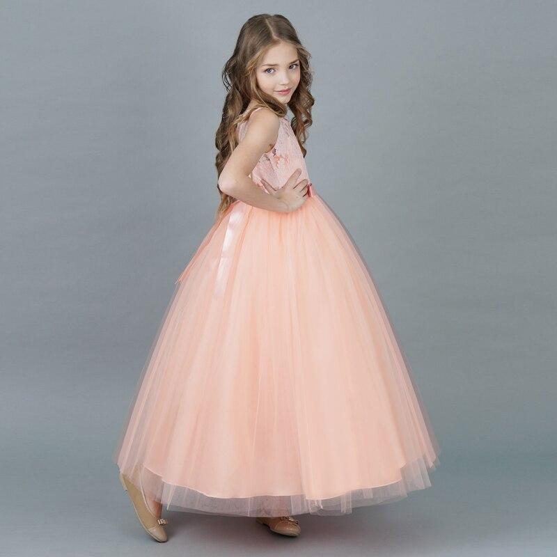 Children Girl Dress 2018 New Summer Brand Girls Clothes Lace Ball Design  Kids Girls Party Dresses 5e5bcc05b6dc