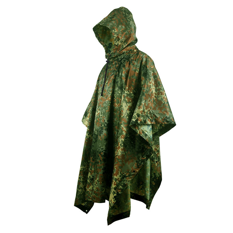 Image 5 - VILEAD Polyester Impermeable Outdoor Raincoat Waterproof Women Men Rain Coat Poncho Cloak Durable Fishing Camping Tour Rain Gear-in Raincoats from Home & Garden