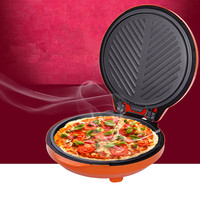Household automatic multifunction baking pan electric pancake machine sided suspension heated Pizza machine crepe maker