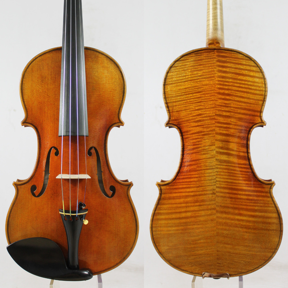 Guarnieri del Gesu 1743 The Cannon Violin violino Copy All European Wood Top oil varnish Best