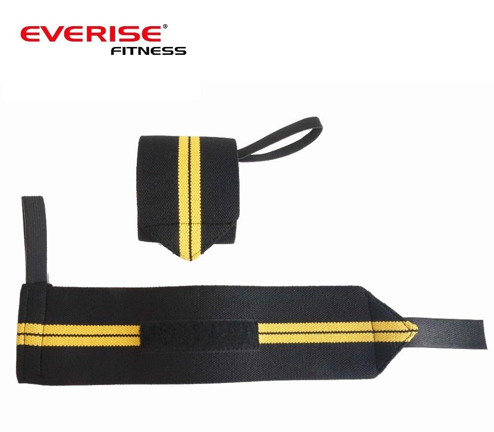 Prix pour 1 Paire Main Poignet des Bracelets Wraps Crossfit Poids De Levage Support De Poignet Force Wraps
