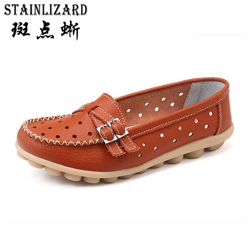 Flat Shoes Women Soft Slip on Flats Female Loafers Mother Comfortable Fashion Casual Shoe Woman PU Leather Shoes 5-DT917 fashion brand genuine leather shoes for women casual mother loafers soft and comfortable oxfords lace up non slip flat moccasins