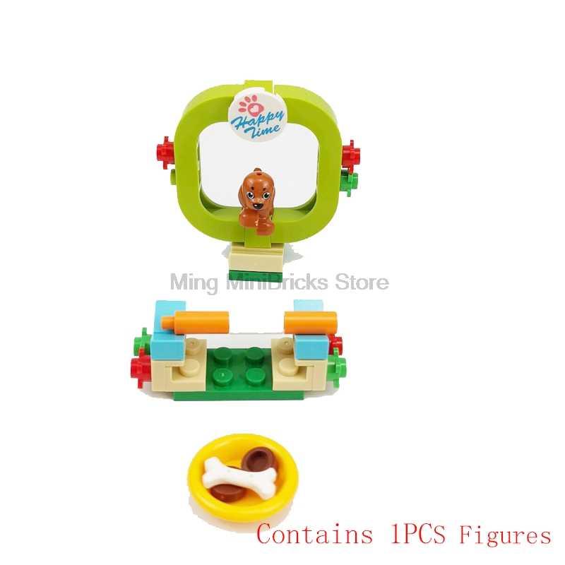 عربة أطفال من Legoing moc سلسلة خالق المدينة كشك هاتف عربة أطفال عربة أطفال حلوى قطنية مجموعات ألعاب أطفال مدينة Legoings
