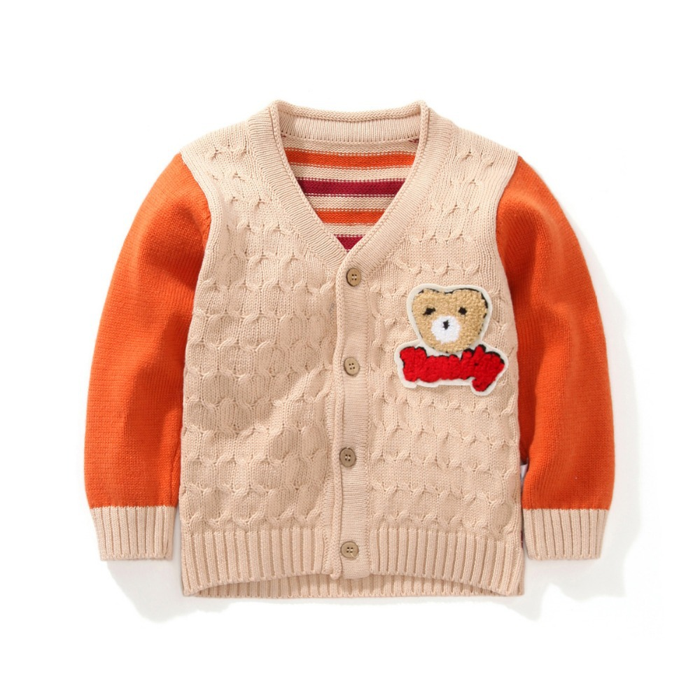 1 4y Boys Cardigan Children Sweatercoat Kids Sweater Baby