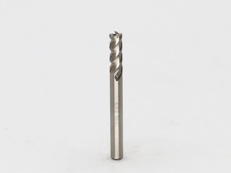 Nauji 4Flute head 6mm galiniai frezos Frezavimo pjaustytuvo CNC - Staklės ir priedai - Nuotrauka 4