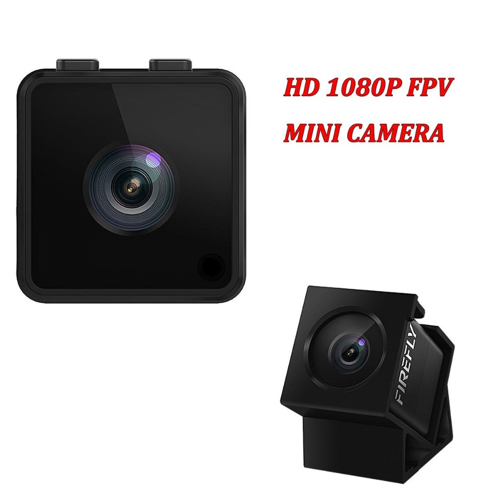 Mini Camera HD 1080P FPV Hawkeye Firefly Micro Action Camera with Hidden Cam DVR FOV160 Built-in Mic for RC Helicopter