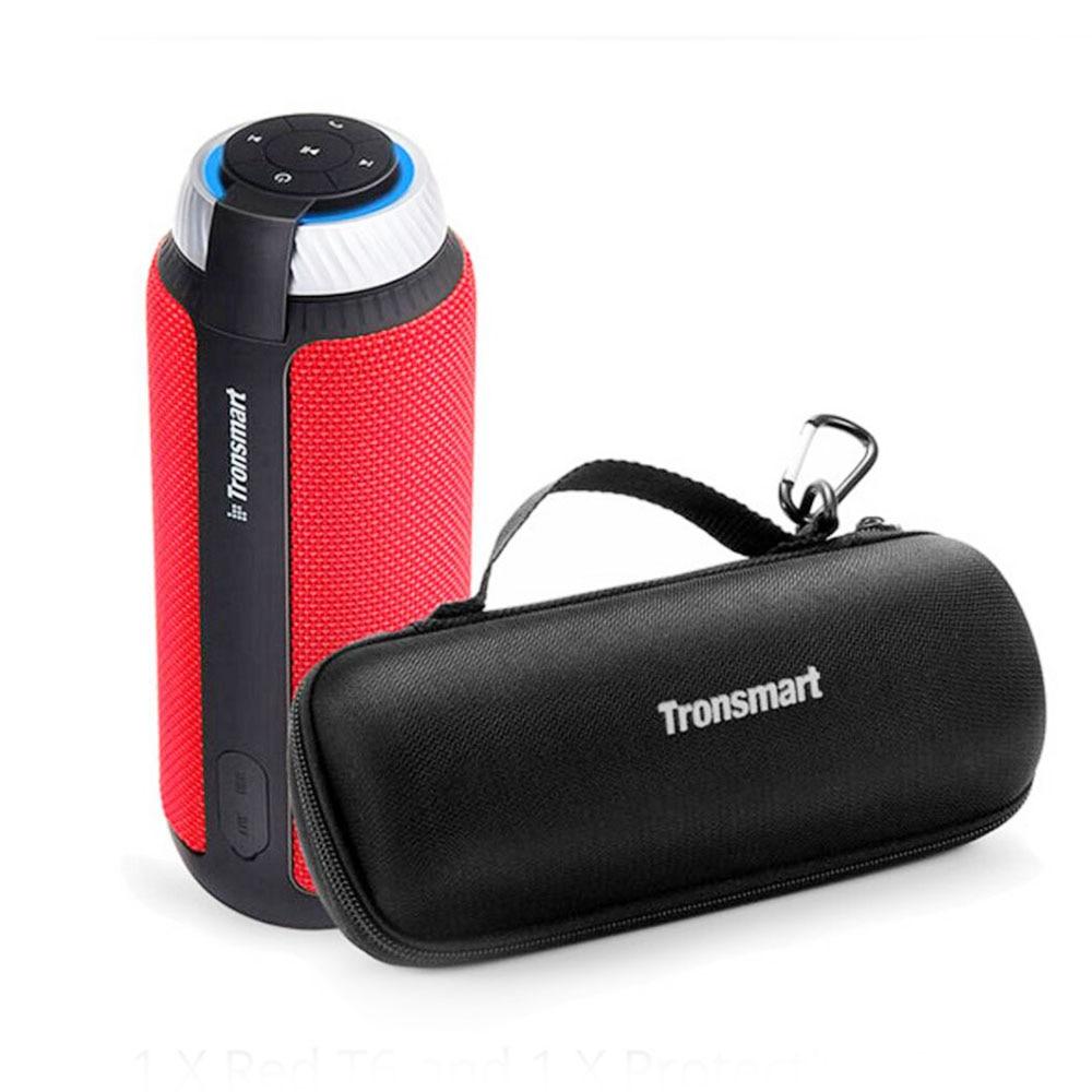 Tronsmart Element T6 Bluetooth Speaker 25W Portable Speaker with 360 Stereo Sound Soundbar Column for Music MP3 Player цена