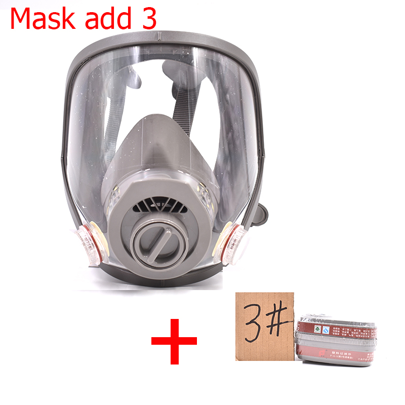 Fire Respirators Fire Protection Independent 3m7502 Of Reusable Respirator Mask/ Gas Mask Portable Respirator Protective Fire Masks Keep You Fit All The Time