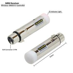 Image 4 - Controlador inalámbrico ISM Dmx 2,4G, transmisor receptor de señal DMX512 para DJ, luz de discoteca, cabezal móvil