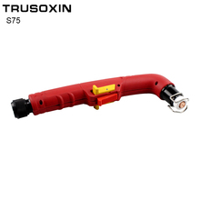 S75 PF0135 Torch Head Body Air Plasma Cutter Torch Cutting Torch Cutting Gun Consumables Welding Machine parts p80 panasonic super high cost complete air cutter torches torch head body straigh machine arc starting 12foot