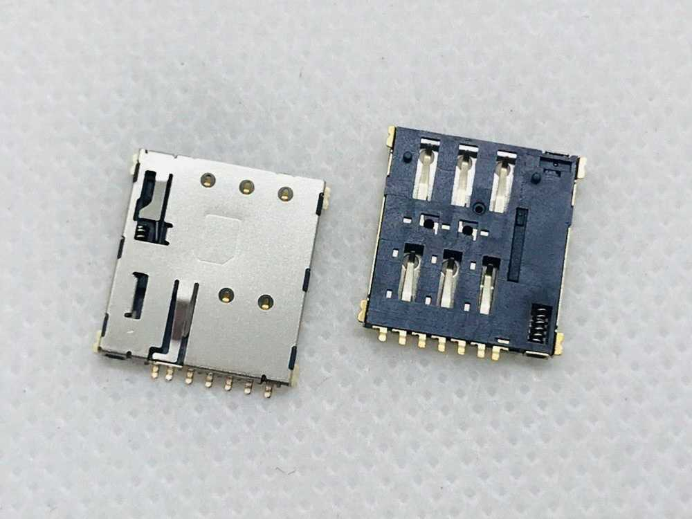 Nano 6/7PIN Gps Navigasi Anak Smart Watch Mainan Flip Pemain Game SIM Micro Sd Tf Card Slot Tray adaptor Dudukan Papan PCB FPC