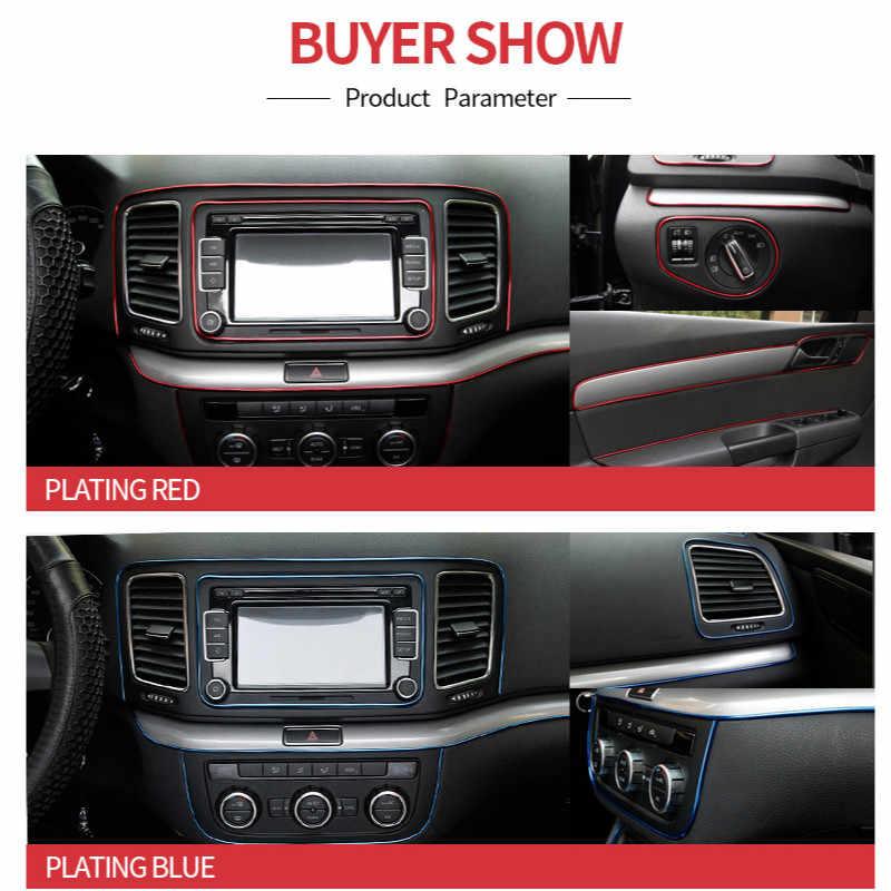 5M Car Styling Accessori Interni Striscia Autoadesivo Per Opel Astra H G J Corsa D C B Insignia Zafira B Vectra Mokka Vectra Meriva