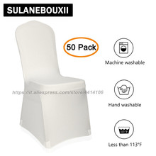 Set of 10/20/50/100 pcs 3 Color Polyester Spandex Banquet Wedding Party Chair Covers. Available in red, black and white