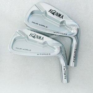 Image 1 - Новые cooyute мужские головки для гольфа HONMA TW737V утюги для гольфа набор 4 910 железные головки без вала для гольфа Бесплатная доставка