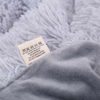XC USHIO Super Soft Elegant โยนผ้าห่มยาวพรมอุ่นสำหรับโซฟาผ้าคลุมเตียงผ้าปูที่นอนคริสต์มาสปีใหม่ของขวัญ