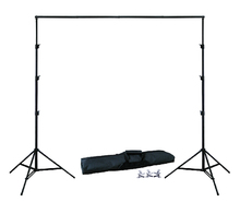 SHIP FROM RUSSIAN BACKGROUND HOLDER 10Ft X 6.5Ft  3M 2M Adjustable Muslin Background Backdrop Support Stand Kit Carrying Bag