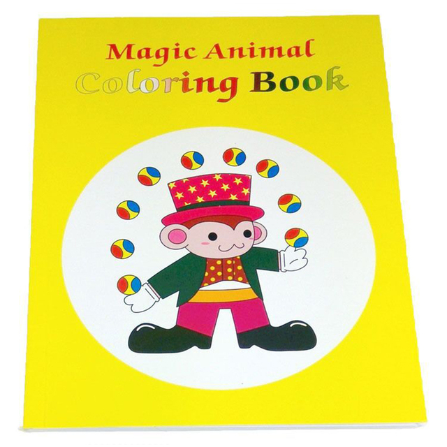 magic cartoon coloring book magic trick korean medium size 205cm15cm - Coloring Book Magic Trick