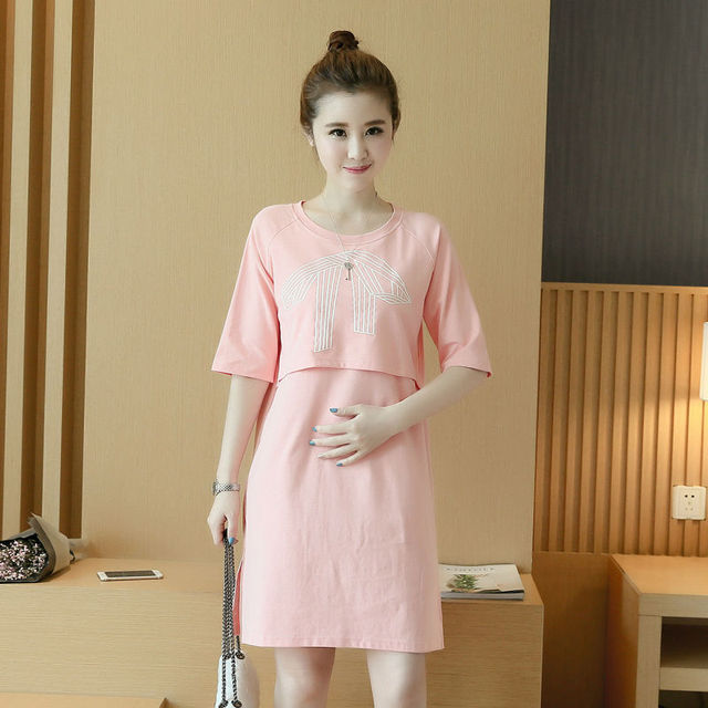 New Clothing for Pregnant Women Breastfeeding Korea ...