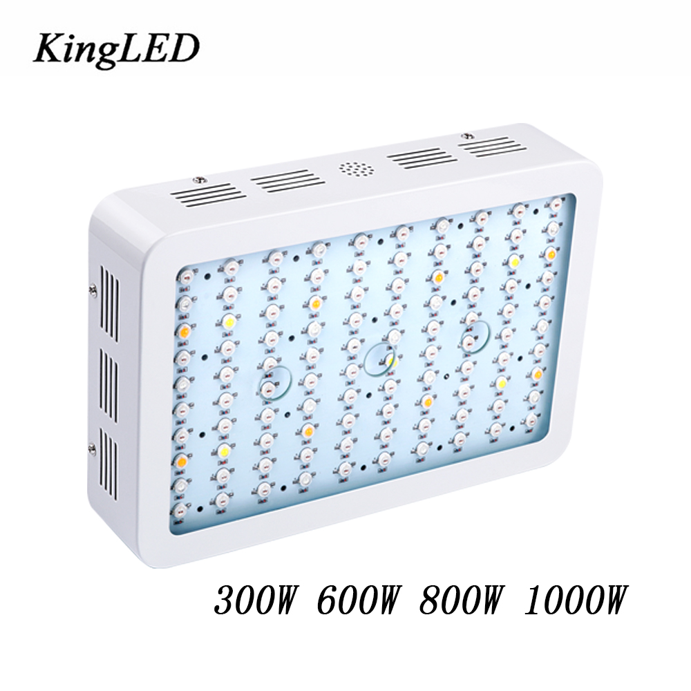 Best LED Grow Light 300W 600W 800W 1000W Full Spectrum for Indoor Aquario Hydroponic Plants Growing LED Grow Light High Yield kingled 600w 800w 1000w led grow light full spectrum led lights for indoor medical plants grow and flower very high yield