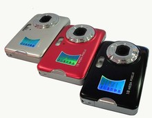 "18MP (4896×3672) 2.7 ""Cámara Digital de 8X Zoom Digital Mini Portátil Camorder 5.0MP CMOS Sensor DC500FE"