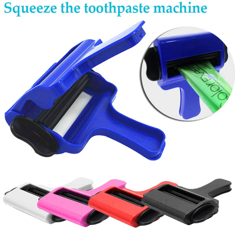 New Paste Squeezer Tool Plastic Toothpaste Paint Hand Cream Hair Color Salon Styling Tube Squeeze Tool Bathroom Accessories HR