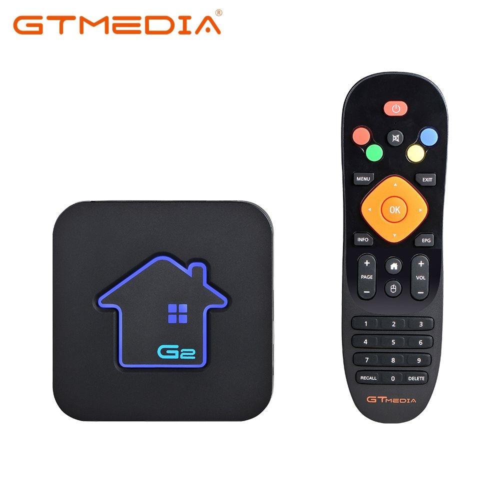 Original GTmedia G2 TV Box S 4K HD Android TV 7.1 Ultra HD 2G 16G WIFI Google Cast Netflix IPTV M3U Set Top Box 4 Media Player