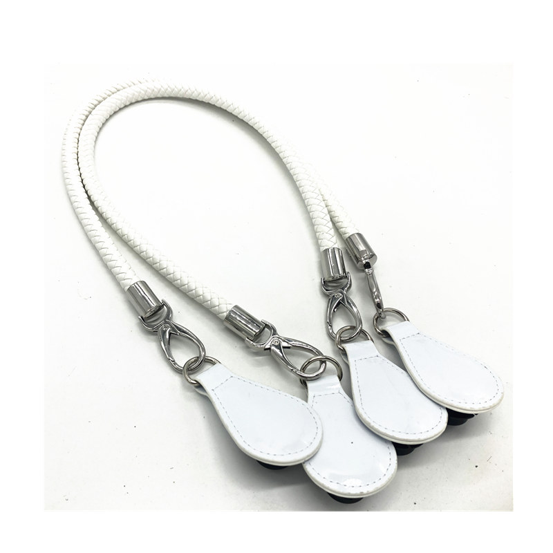 New Length 1 Pair White Handle For Obag