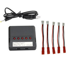 High Quality X5 Mini 5 Port Lipo Battery USB Charger for Hubsan H107/ Syma X5C/UDI U816 UFO Quadcopter Helicopter