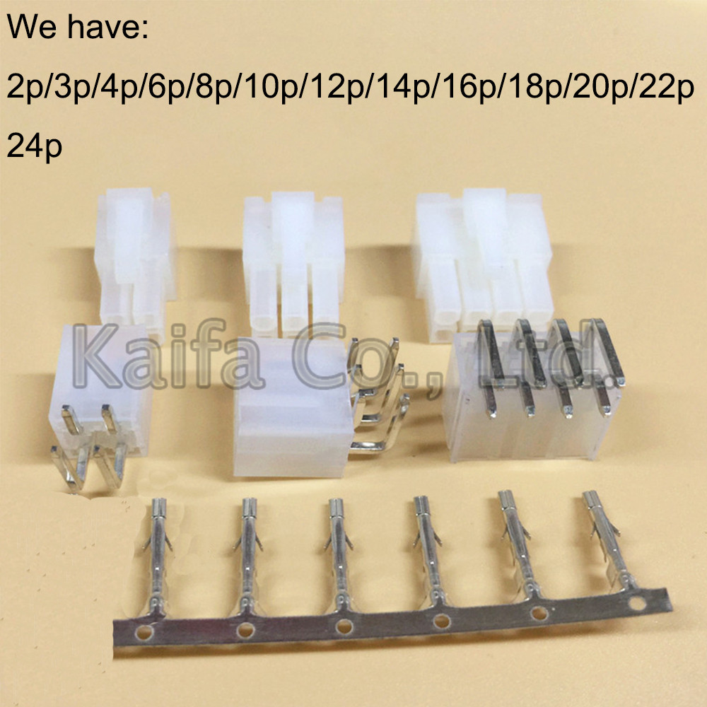 5sets 2 3 4 6 8 10 12P 3set 14 4.2mm Curved needle 5557&5569 wire terminals electrical connector plug for PCB/CPU/car/motorcycle connector hr10 10r 12p 73