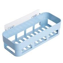 Полка Органайзер настенный Nailless душевой уголок для хранения в ванной, на кухне держатель стеллаж для выставки товаров магазина