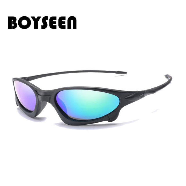 BOYSEEN fashion Cycling Sunglasses Sand-proof Polarized Bicycle Goggles Women Men Riding Bike Glasses 1034