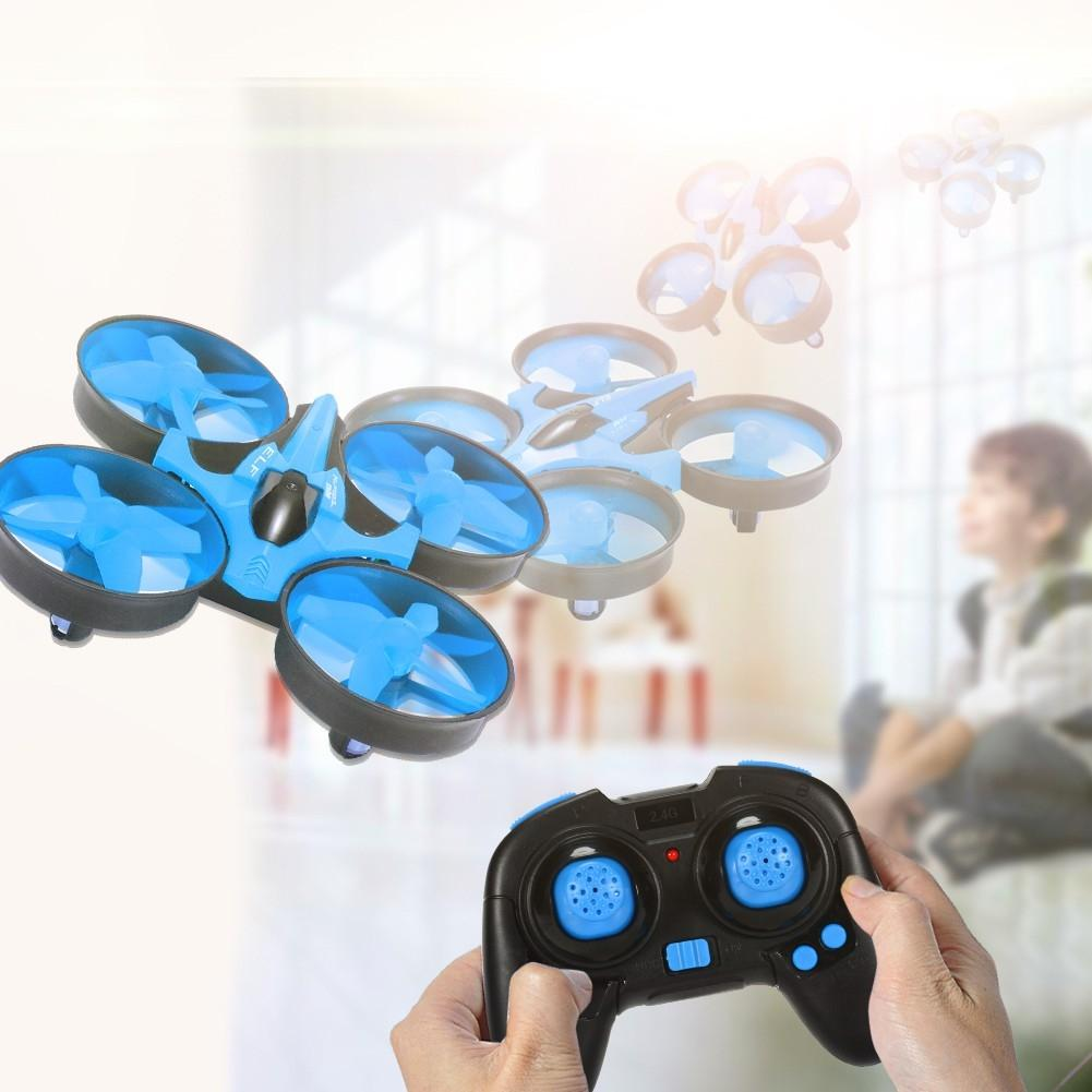 LeadingStar ELF Mini Drone 2,4 GHz 4CH Quadcopter Drone mit 6-achsen-gyro Headless Modus Fernbedienung Quadcopter Blau