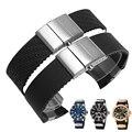 Hight qualidade de Silicone faixa de Relógio 22mm pulseira de Silicone pulseira de Relógio interface Alternativa Especial Frete grátis