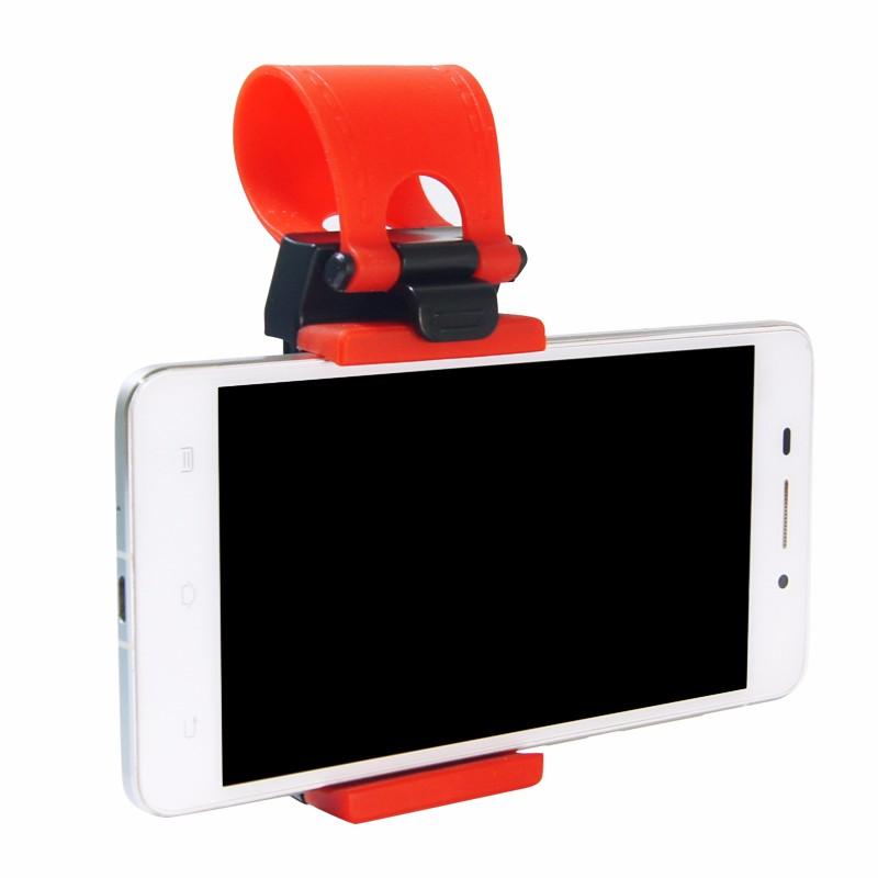 Uniwersalny Uchwyt Samochodowy Kierownica Rower Klip Góra Uchwyt Gumka Dla iPhone Do Samsung Dla Lenovo Telefonu komórkowego Uchwyt 8