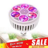 Neueste 120W E27 LED Wachsen Licht 85 265V Led Wachsen Lampe Pflanzen Wachsen Lampe Indoor Hydrokultur Gewächshaus gemüse Blume Licht|LED-Wachstumslichter|   -