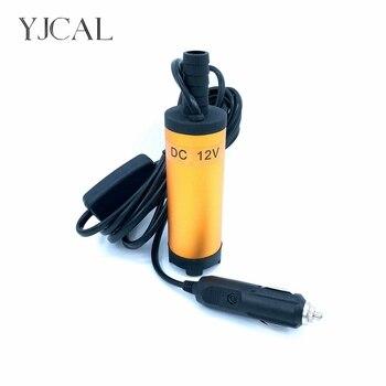 цены Mini Submersible Diesel Fuel Transfer Water Oil Suction Pump 38MM Aluminum Alloy DC 12V 24V 12L/Min 25W Car Cigarette Lighter
