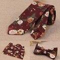 Top-end conjunto gravata para os homens ternos de vestido de casamento da borboleta bowknot floral gravata do laço bolso praça handkerchief bow tie negócios