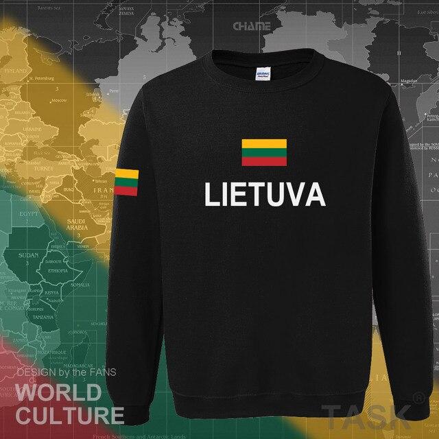 Lithuania Lithuanian hoodies men sweatshirt sweat new nation 2017 streetwear clothing sporting tracksuit LTU Lietuva Lietuvos