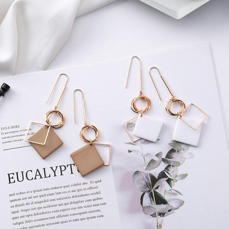 Long Hook Dangle Earrings for Women   3