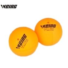 60 Pcs 1-Star 40mm 300g WEING Table Tennis Balls Ping pong Ball Orange Pingpong Ball Amateur Advanced Training Ball