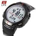 2016 marca de lujo synoke 61576 mens led digital relojes de pulsera de reloj del deporte de moda militar para los hombres s choque digital relojes reloj