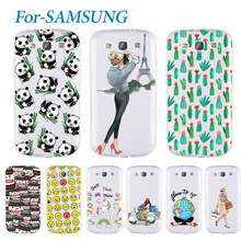 Fashion Young Soft Phone Case For Samsung Galaxy S3 I9300 Lovely Silicone TPU Cover Cases For Galaxy S3 I9300