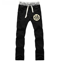 Anime Dragon Ball GoKu LOVERS pure cotton pants sports casual trousers cosplay gift NEW Fashion