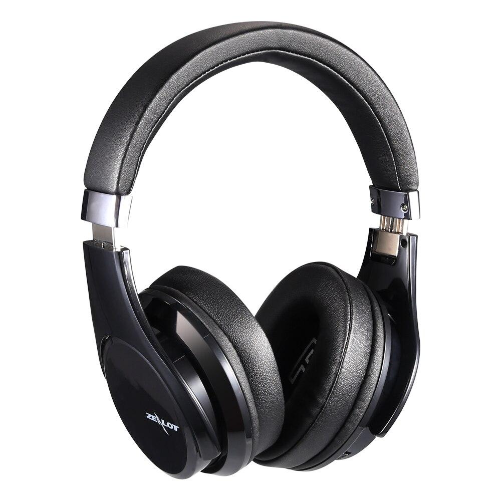 ZEALOT B21 Wireless headphones Over the ear Headphone with Microphone Deep Bass Sound Bluetooth Earphone noise