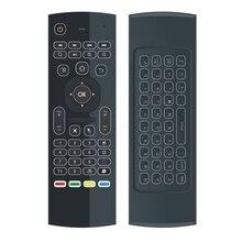 G20s ar mouse 433mhz voz controle remoto com giroscópio 2.4g rf teclado sem fio para x96 mini a95x h96 pro t9 android caixa de tv